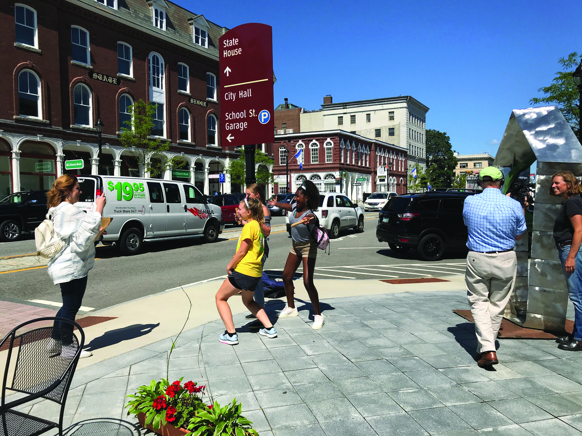 Artists invited to showcase sculptures in downtown Concord, New Hampshire.