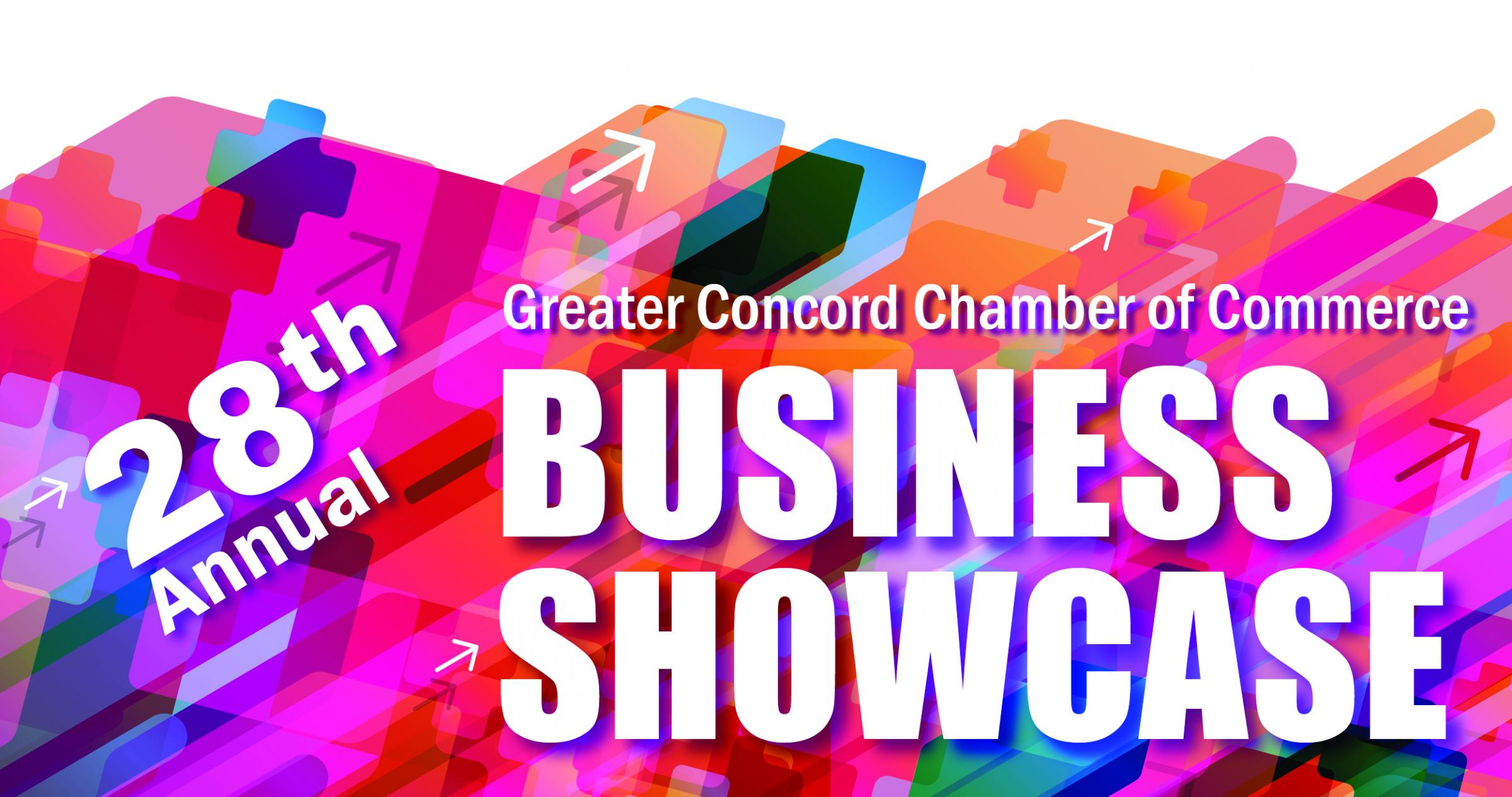 28th Annual Greater Concord Chamber of Commerce Business Showcase graphic