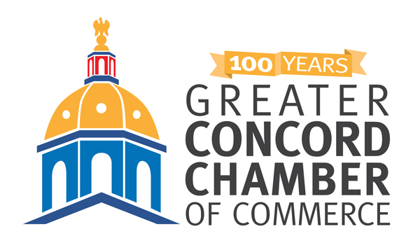 Greater Concord Chamber of Commerce 100th anniversary logo
