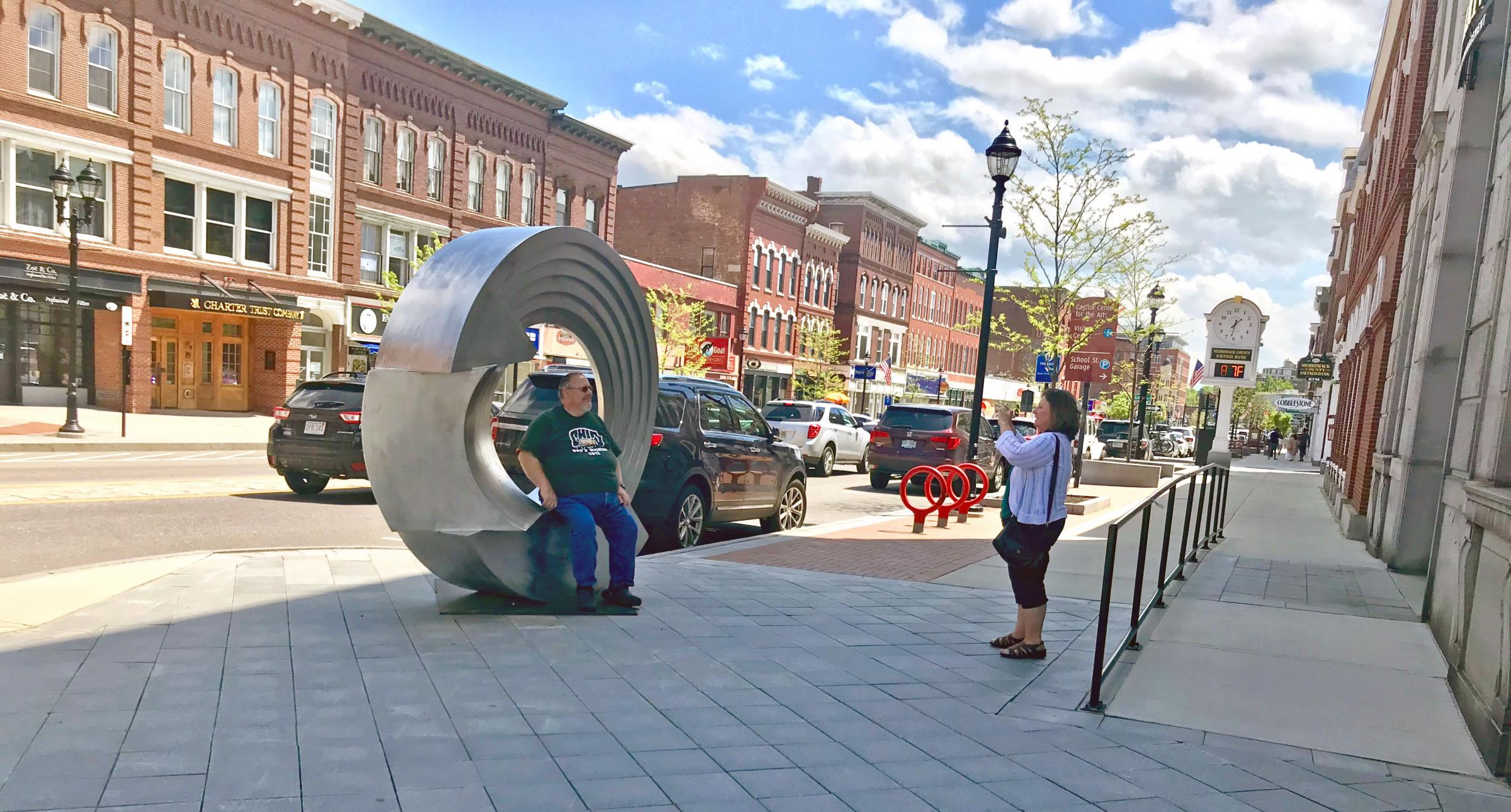 The City of Concord, NH and the Greater Concord Chamber of Commerce invite professional sculptors to submit entries for Art on Main, a public art exhibit in the city's historic downtown.