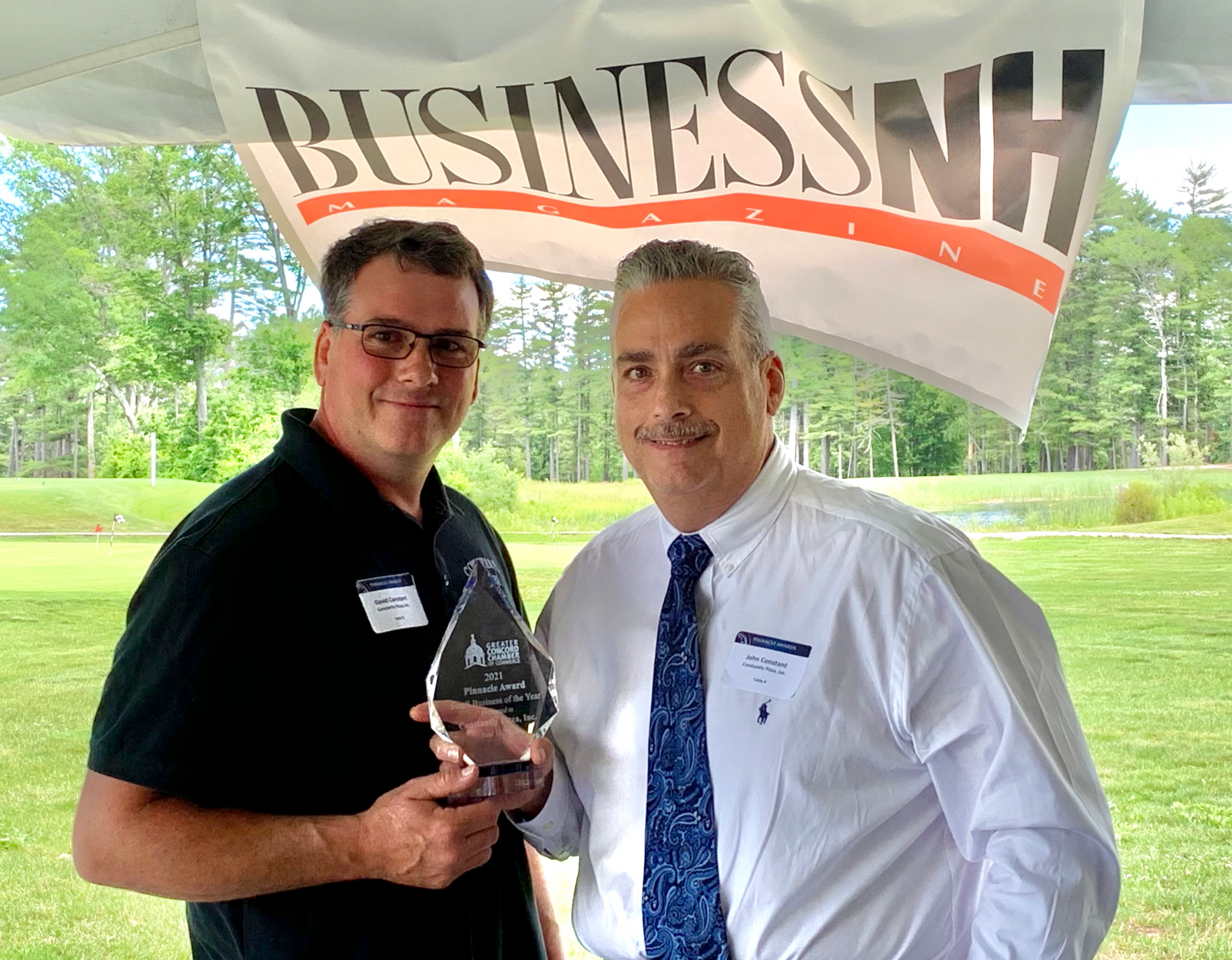 John and Dave Constant of Constantly Pizza, Inc. received the Pinnacle Small Business of the Year Award