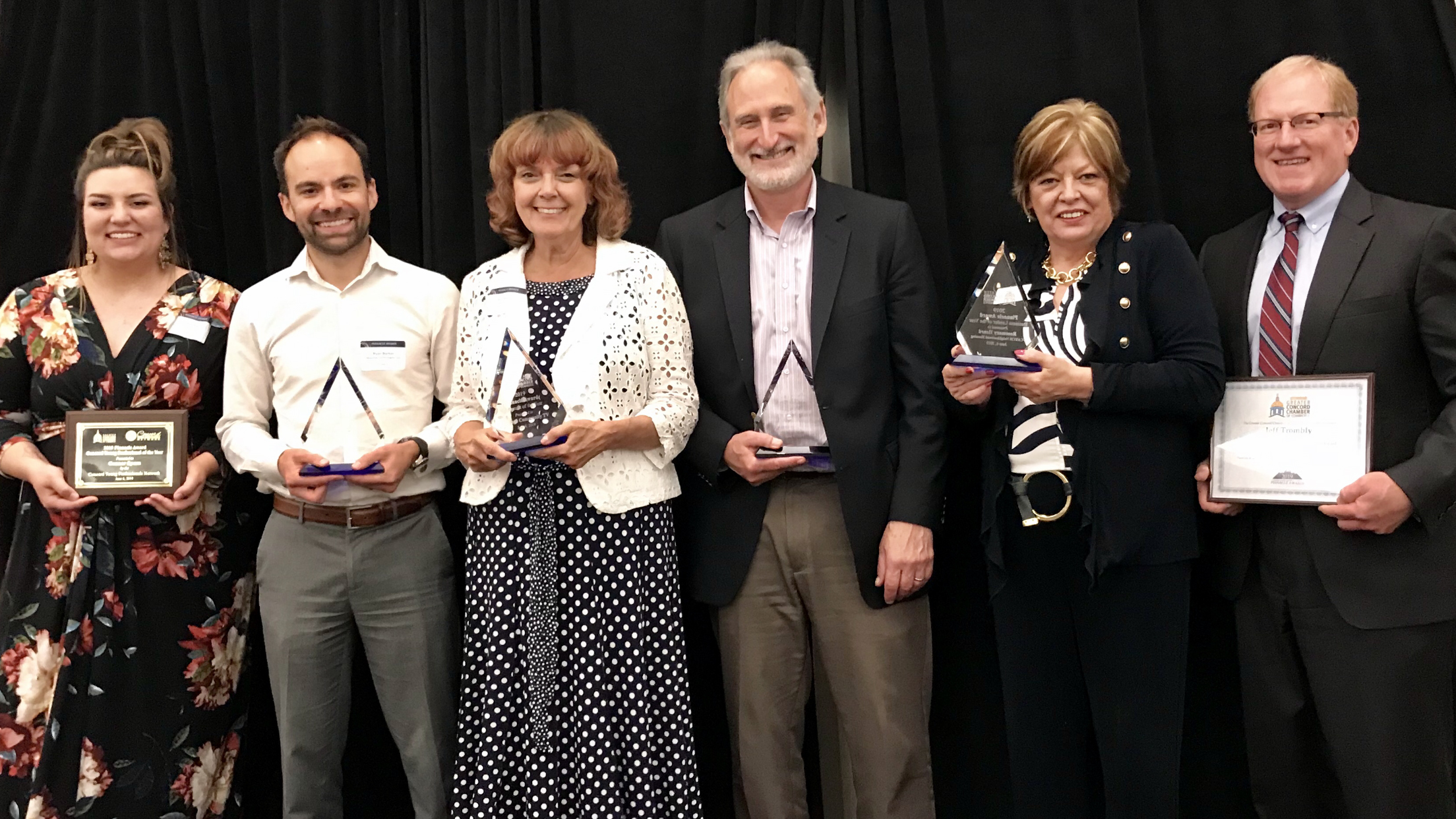 The Greater Concord Chamber of Commerce honors individuals and businesses who serve Capital area and Chamber at its 14th Annual Pinnacle Awards on June 6, 2019.