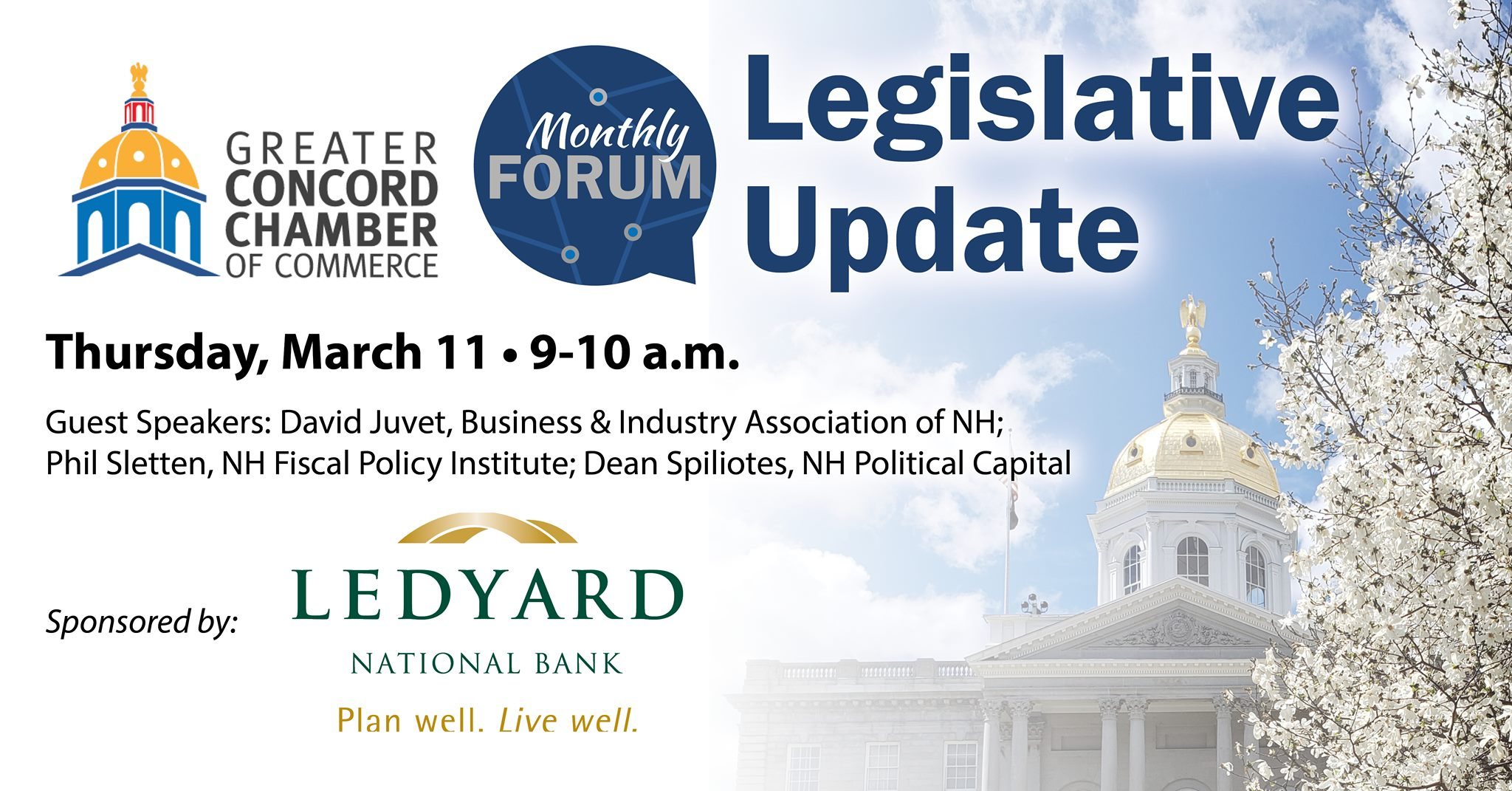 Legislative Update forum 2021