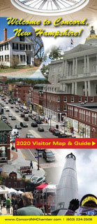 Greater Concord Chamber of Commerce 2020 Map & Guide of Concord, New Hampshire