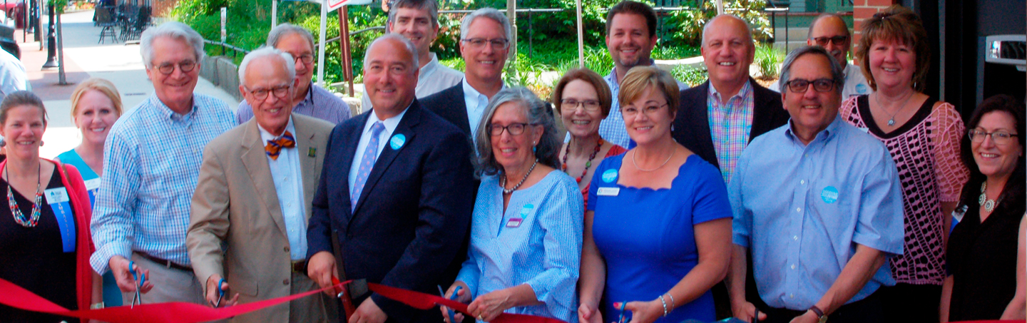 Ribbon Cutting Ceremony for Bank of NH Stage, Concord's new performing arts venue in NH's state capital.