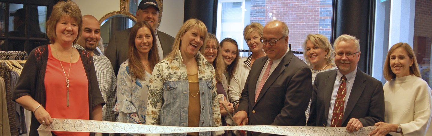 The Greater Concord Chamber of Commerce welcomed Indigo Blues & Co., to downtown Concord in May.
