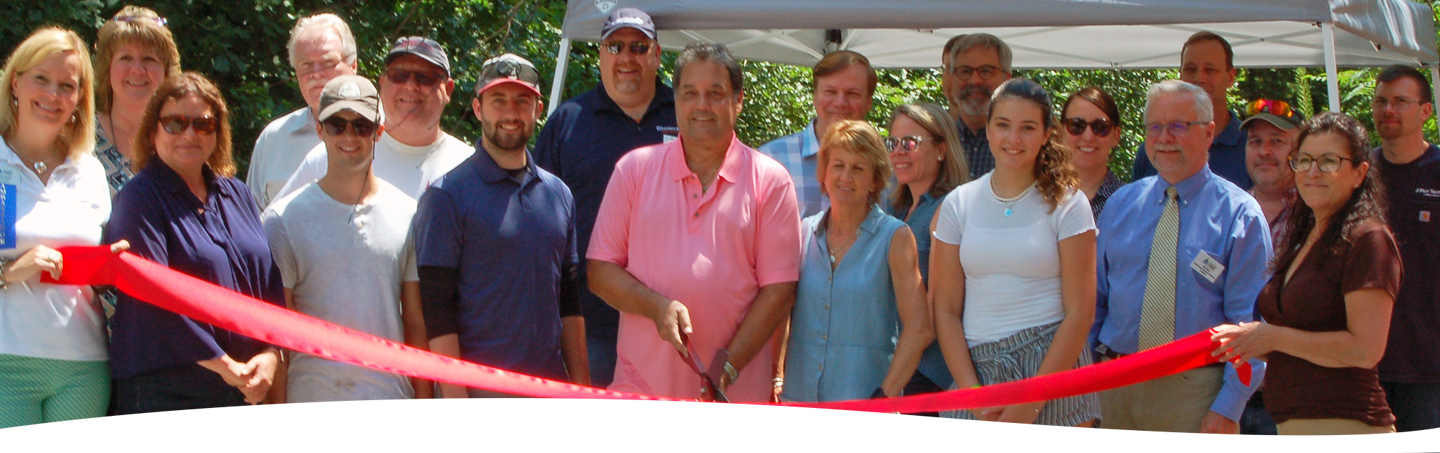 The Greater Concord Chamber of Commerce welcomed Scenic Railriders with a Ribbon Cutting