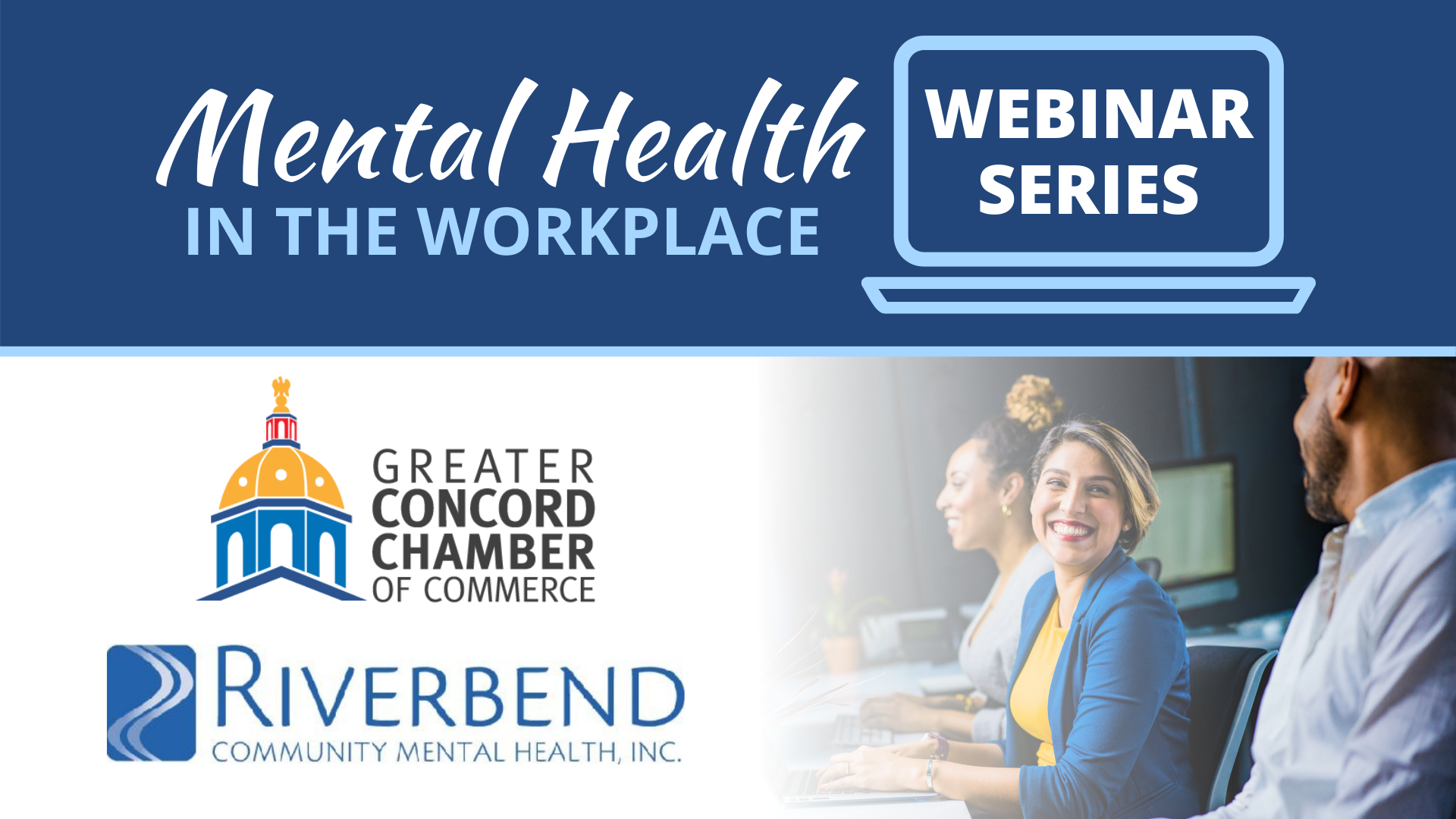 Webinar series with Riverbend Community Mental Health, Inc.