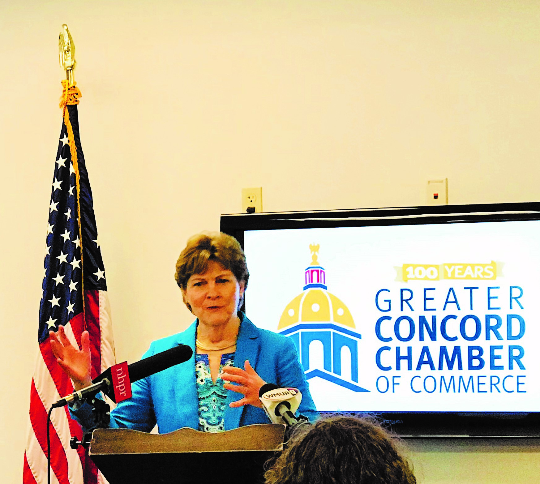 U.S. Senator Jeanne Shaheen will address Greater Concord Chamber of Commerce members and the public at a virtual forum on July 7.