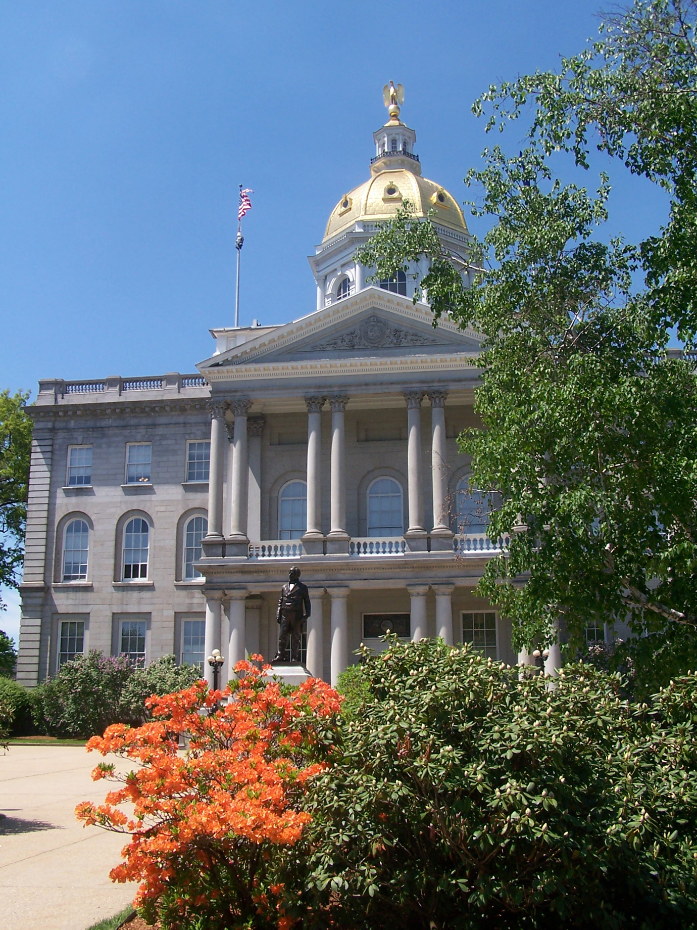 New Hampshire State House in Concord, NH