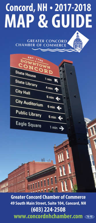 Concord Street Map & Tourist Map