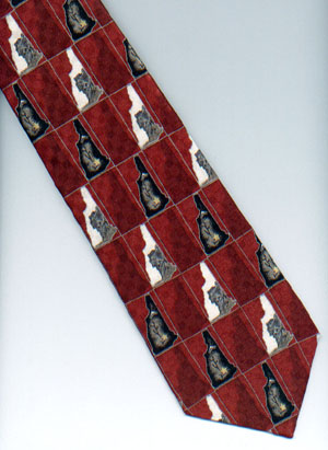 NH Tie- Red